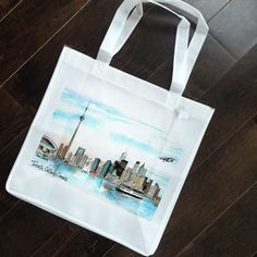 One of #davidcrighton 's  most popular images - the Skyline of #Toronto.  See it on a #pillow too! #shopifypicks