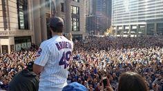 IMPRESIONANTE: Los Cubs se gozan con todo su desfile de campeones de Serie Mundial