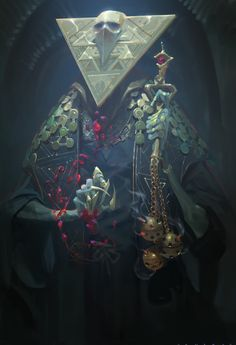 ArtStation - Olbiskura - High Blood Priest of the Rubicons, Alex Konstad