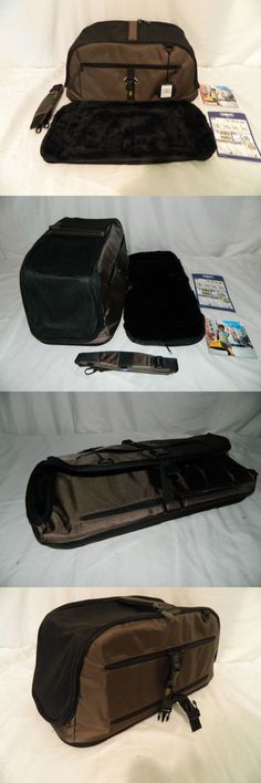 Carriers and Totes 177788: Sleepypod Brown Airplane In Cabin Travel Pet Carrier Nwt Gm589 -> BUY IT NOW ONLY: $99.99 on eBay!
