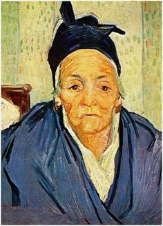 An Old Woman of Arles - Vincent van Gogh