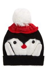 Collection XIIX Penguin Pom Beanie available at #Nordstrom