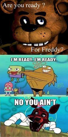 Spongebob and fnaf lol so funny Five Nights At Freddy's, Spongebob, Life Is Strange, Funny Images, Funny Pictures, Funny Pics, Funny Stuff, Scary Games, Fnaf Sl