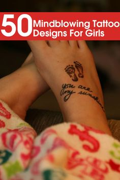 50 Mindblowing Tattoo Designs For Girls Not the normal petite ones.... no infinity or anker. Some really pretty ones :)
