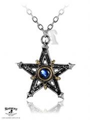 Medieval Pentangle Alchemy Gothic Pendant