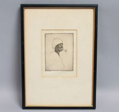 Signed-Etching-Contentment-Charleston-Renaissance-Elizabeth-ONeill-Verner-Orig