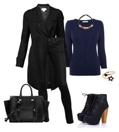 """Без названия #401"" by natalyasidunova ❤ liked on Polyvore featuring Oasis, Witchery, GUESS, Anja, Zara, PERLOTA, Orly Genger, women's clothing, women and female"