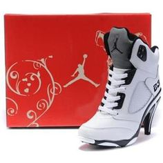 nike shox guerriers - Womens Air Jordan 3.5 High Heels Black Red Grey | jordans ...