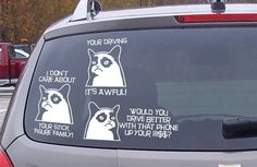 These car decals: