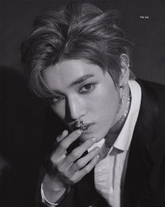 Wtf is that in his mouth? A chain? He still looks hot with that weird thing, i'm jellyyy Nct Taeyong, Nct 127, Jisung Nct, Winwin, Jaehyun, K Pop, Nct Dream, Teaser, Perfect Boy