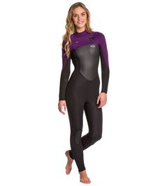 c8960f62b12 Xcel Women's 4/3MM Infiniti TDC Chest Zip Fullsuit Wetsuit at  SwimOutlet.com - Free Shipping