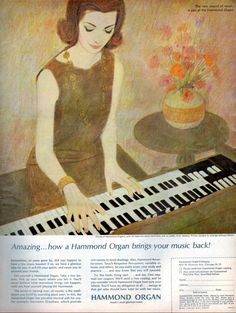 Hammond Organ - 1963