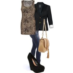 City Animal, created by lexi-k-c on Polyvore