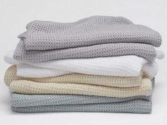 Coyuchi Organic Cotton Big Sur Blankets