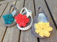 Baby Flip Flops! Been looking for a free pattern for so long! Here it is!