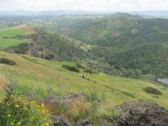 Hiking in Wildwood Park. Thousand Oaks, CA