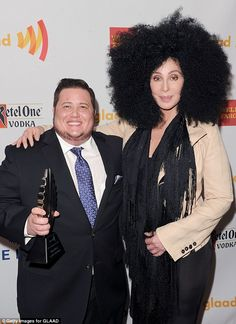 Famous mother: Chaz is the son of legendary singer Cher...