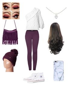 """~Winter Cute~"" by solieldawnmarie on Polyvore featuring Rosie Assoulin, 2LUV, Converse, Cartier and Marmot"