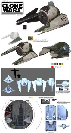 Star Wars Clone Wars Yoda Interceptor Season 6 by songjong on DeviantArt