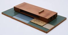 Ludwig Mies van der Rohe. Resor House Project, Jackson Hole, Wyoming. 1937-38
