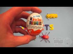 Kinder Surprise Egg Learn-A-Word! Spelling Outdoor Words! Lesson 8
