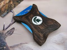 Michigan State Wallet Money Clip Spartans wallet by BenchBuilt, $59.00