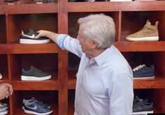 #sneakers #news  New England Patriots Owner Robert Kraft Loves Nike Roshes And Air Force 1s