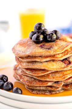 This Blueberry Buttermilk Buckwheat Pancakes recipe is a delicious, healthier alternative to traditional buttermilk pancakes. They're light and have a slightly nutty flavor. Mini Breakfast Quiche, Breakfast Buffet, Best Breakfast, Easy Breakfast Casserole Recipes, Brunch Recipes, Top Recipes, Yummy Recipes, Dessert Recipes, Best Pancake Recipe