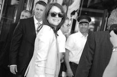 Julianne Moore à son arrivée au Martinez