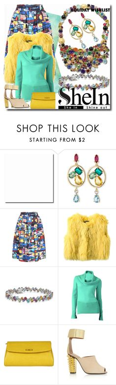 She In Holiday Wishlist by emperormpf on Polyvore featuring Apt. 9, Isabel Marant, Fendi, Oscar de la Renta, Blue Nile and CARAMELO