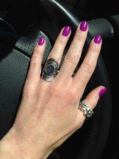 """This is Red Carpet Manicure soak off gel, from July 2012. Three coats of """"What a Surprise"""" it is agorgeousvibrant..."""