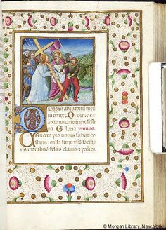 Book of Hours, MS M.454 fol. 75r - Images from Medieval and Renaissance Manuscripts - The Morgan Library & Museum