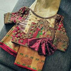 Blouse Back Neck Designs, Wedding Saree Blouse Designs, Hand Work Blouse Design, Stylish Blouse Design, Fancy Blouse Designs, Marie, Collection, Beautiful, Absolutely Stunning