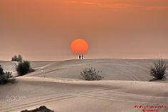 Deserto - Fotos da viagem para Dubai.