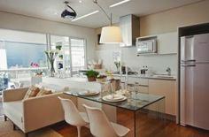 Apartamentos pequenos planejados