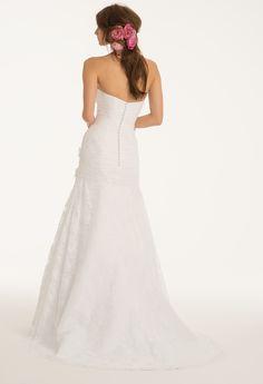 Camille La Vie Lace Wedding Dress Bridal Gown Strapless     #weddingdresses #bridalgowns #weddings