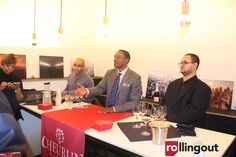 Detroit Pistons' Hall of Famer Isiah Thomas launches new champagne collection 'Cheurlin Thomas' at House of Pure Vin Detroit