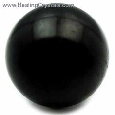 Sphere - Shungite Spheres (Russia)- Shungite - Healing Crystals