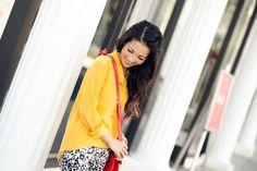 Weekend Leopard :: Snowcat print & Golden poppy : Wendy's Lookbook