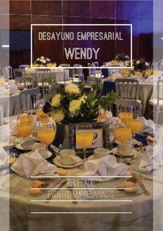 TRUFFADE también puede planear y organizar tu evento de tipo empresarial. Aquí les mostramos una foto de el desayuno de la empresa de colchones wendy. ¡Ven con nosotros y contáctanos!.