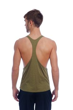 T back racerback tank top mode from our Single Jersey cotton blend. The perfect tank top for your basic apparel wardrobe. • 60% Combed Cotton / 40% Polyester • Single Jersey Cotton Blend • T-Back Desi