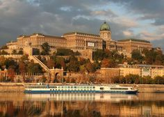 Buda Castle & Royal Palace situated atop Castle Hill.