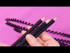 TIP - Como hacer churo la lana #TijeritasManualidades - YouTube