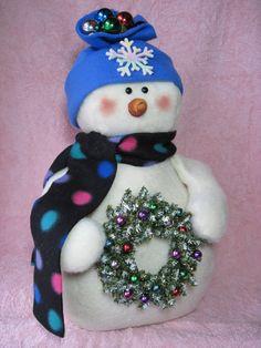 Snowman pattern: Wreaths for Sale 630 por adelinescrafts en Etsy