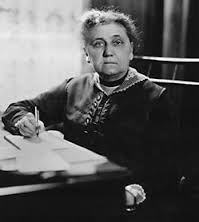 Jane Addams Fue una socióloga feminista , pacifista y reformadora Estadounidense En 1931 Con galardonada Fue el premio Nobel de la Paz , Premio Compartido Con Nicholas Murray Butler .