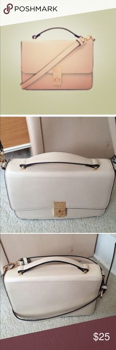 🎉NWOT Faux Leather Satchel BUY WITH CONFIDENCE! I am a 100% positive rated seller as well as a Suggested User on Poshmark! .............................................................................. OFFERS Welcome, use the offer button⬇️ .............................................................................. ABOUT THIS PRODUCT: -No Trades Accepted -Size: OS -Condition: Used -Shipping: Ships within two days! Bags Shoulder Bags