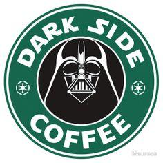 Dark Side Coffee by Maurece