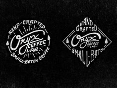 Onyx Coffee Badges - Jeremy Teff