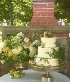 Wine Country Wedding Cake by Michelle Marie's Patisserie in Santa Rosa, CA