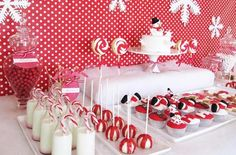 Mesas dulces para Navidad - http://www.decoora.com/mesas-dulces-para-navidad.html